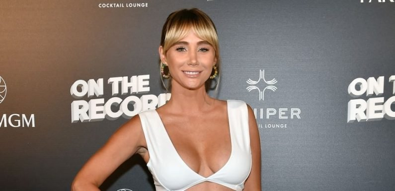 Busty 'Playboy' Playmate Sara Underwood Shows Off Serious Underboob, Goes Braless In Sexy Jungle Snapshot