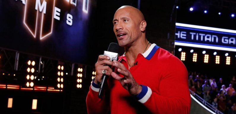 """What is Dwayne """"The Rock"""" Johnson's Role on 'The Titan Games,' and Who is the Oldest Contestant?"""