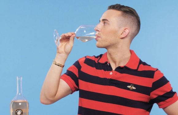 Adam Rippon *Honestly* Reviews Celeb Rosés, So You Don't Waste Your Time Drinking Gross Booze