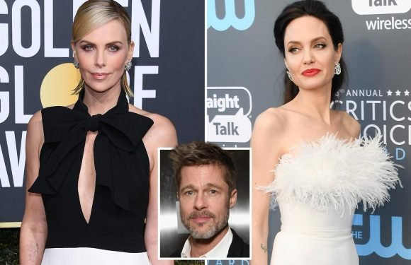 How Brad Pitt's new lover Charlize Theron has an eerily similar life to his ex Angelina Jolie