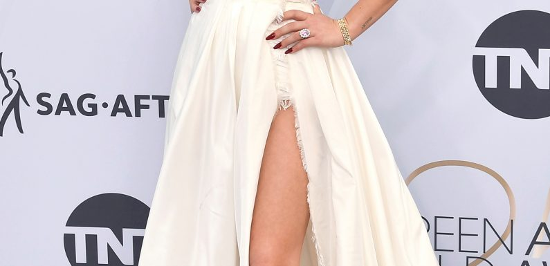 Lady Gaga Goes Back to Blonde – and Snags a Dress Just Off the Dior Couture Runway – for the 2019 SAG Awards