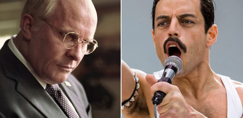 Could Rami Malek swipe the Best Actor Oscar from Christian Bale?