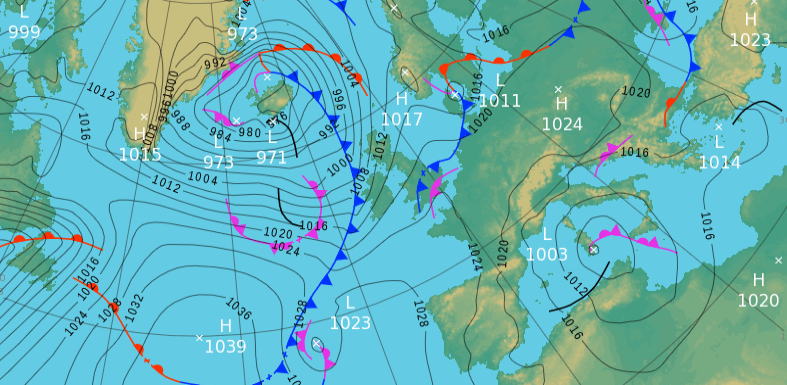 Monday's UK weather forecast — Brits set for a predominantly cold next few days