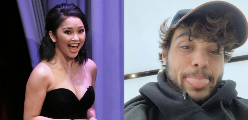 I Showed Lana Condor That Noah Centineo Beard Pic, and She Had Thoughts