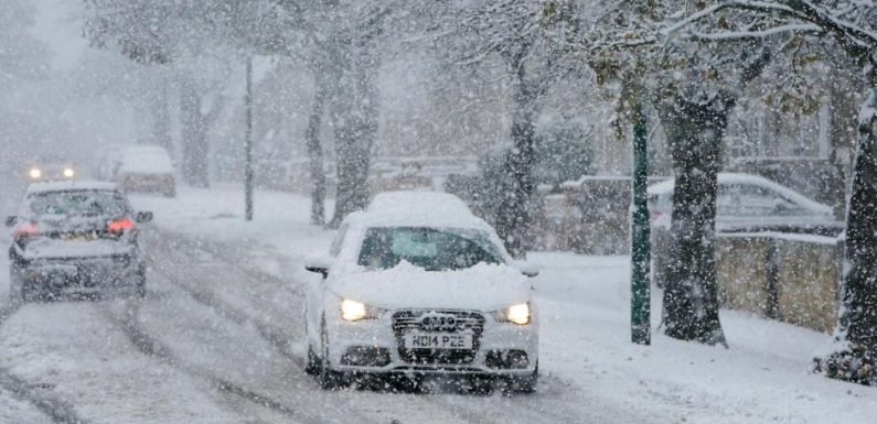 UK weather forecast – 'Beast from the East 2' set to bring SNOW and freezing temperatures following warm Christmas, says Met Office