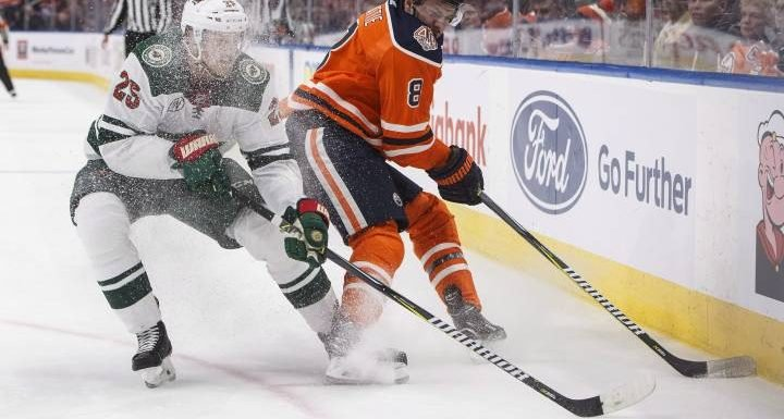 Rattie reunited with RNH and McDavid as Edmonton Oilers host Coyotes