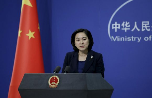 China urges U.S. to abide by 'one China' after warships sail through strait
