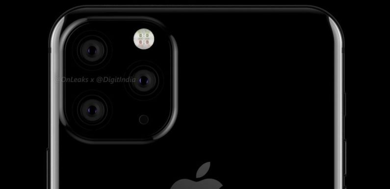 2019 iPhone will have TRIPLE camera system and new 'frosted glass' casing