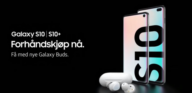 Samsung Galaxy S10 advert leaks online just hours before Unpacked event