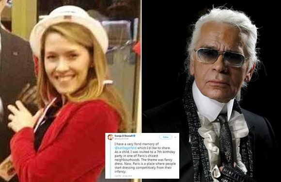 Woman shares anecdote about how Karl Lagerfeld changed her life