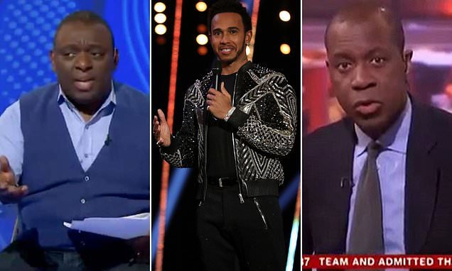 Lewis Hamilton, Garth Crooks and Clive Myrie targeted by racist troll