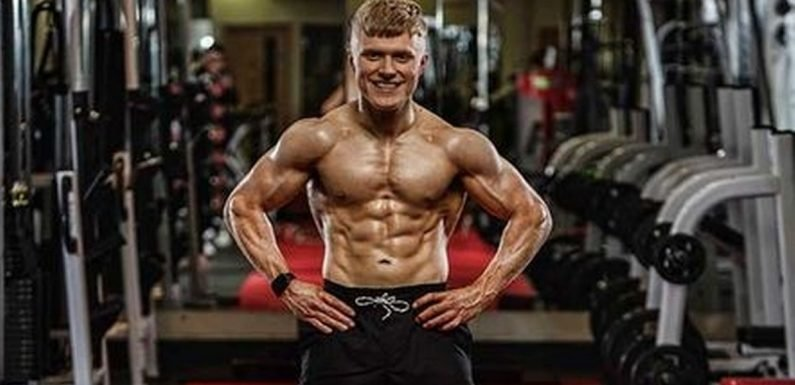 Young man, 22, with just five years to live transforms his body in 12 weeks