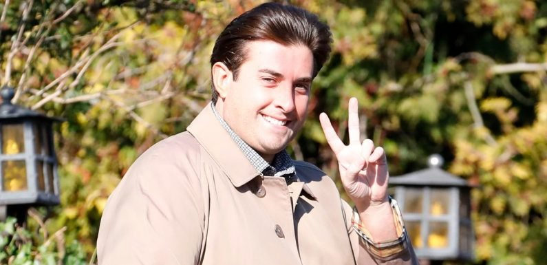 James Argent moves in with his mum after Gemma Collins kicks him out