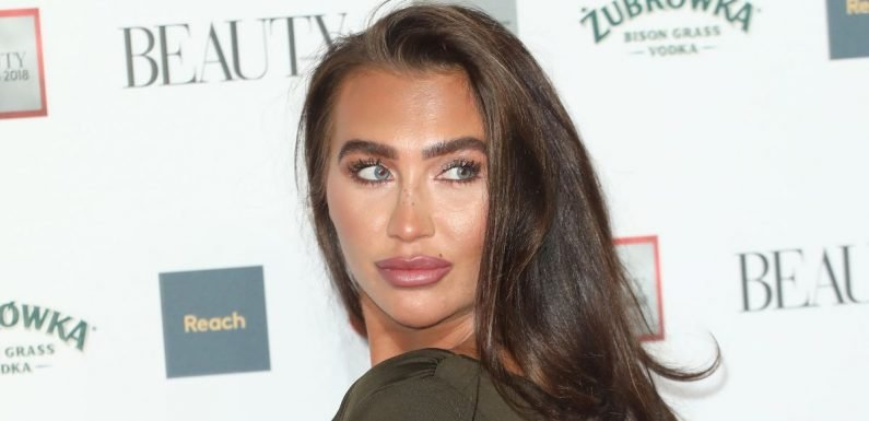 Lauren Goodger relives cancer hell as she encourages women to get smear tests