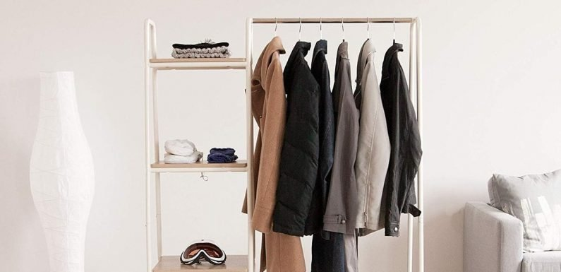 Out of Closet Space? These 16 Clothing Racks Are as Stylish as They Are Useful