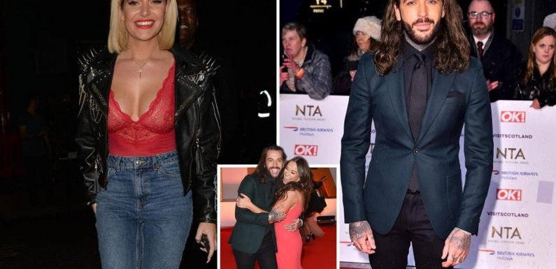 Vicky Pattison is 'worried' pal Pete Wicks will 'hook up with' Megan Barton Hanson after pair had night out at strip club behind Wes Nelson's back