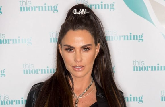 Katie Price finally cleans up mucky mansion as she shows off tidy kitchen while flogging weight loss supplements