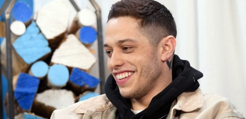 Pete Davidson Covers Ariana Grande-Inspired Tattoo With Ink That Reads 'Cursed'