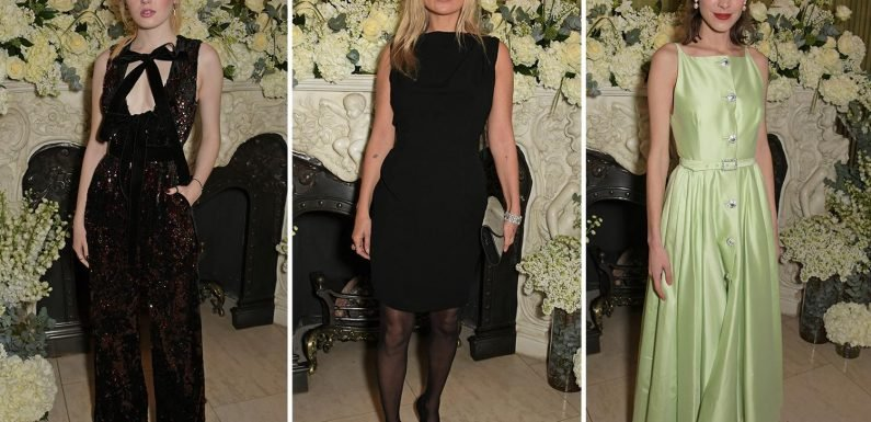 Kate Moss, Alexa Chung and Richard Madden's ex Ellie Bamber party night away after Baftas