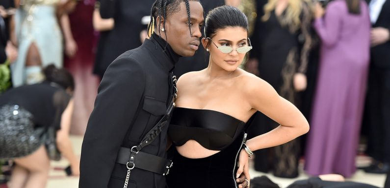 These Photos Of Kylie Jenner & Travis Scott At The 2019 Grammys Will Make You Weep