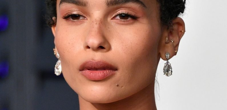 Zoe Kravitz Just Wore A Gold Bikini Top To The Oscars After Party Because She's A Boss