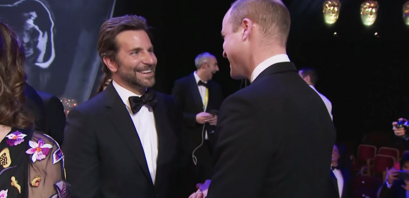 Prince William & Bradley Cooper Raved About Lady Gaga at the BAFTAs