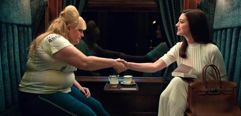 Anne Hathaway, Rebel Wilson star in The Hustle trailer