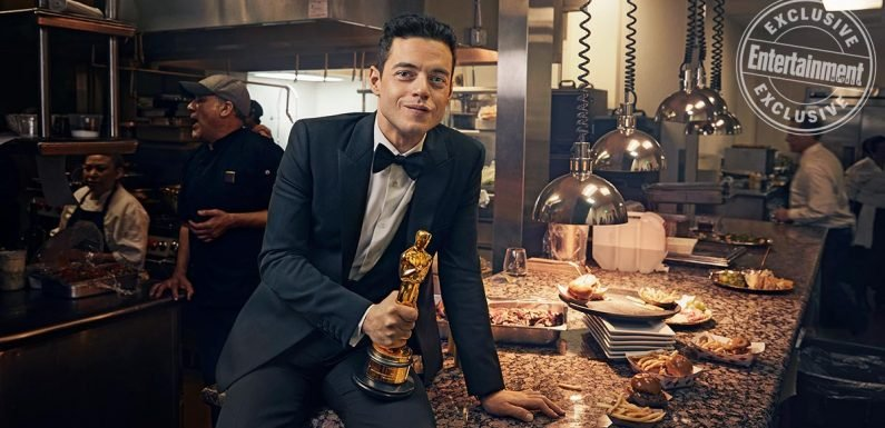 Rami Malek and Spike Lee bask in the Oscars afterglow in post-ceremony portraits