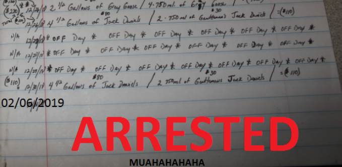 Missouri police fill in last entry of man who kept journal of alleged thefts: 'Arrested – Muahahahaha'