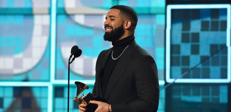 Drake got the mayor of Toronto to turn the CN Tower gold for his Grammy win