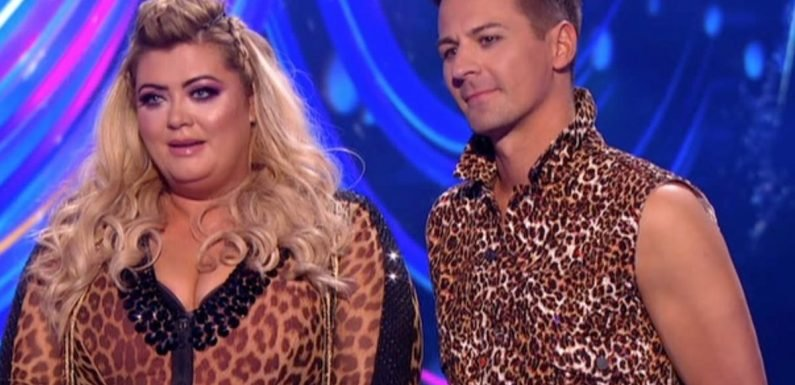 Dancing On Ice bosses 'panic' that Gemma Collins could miss the final