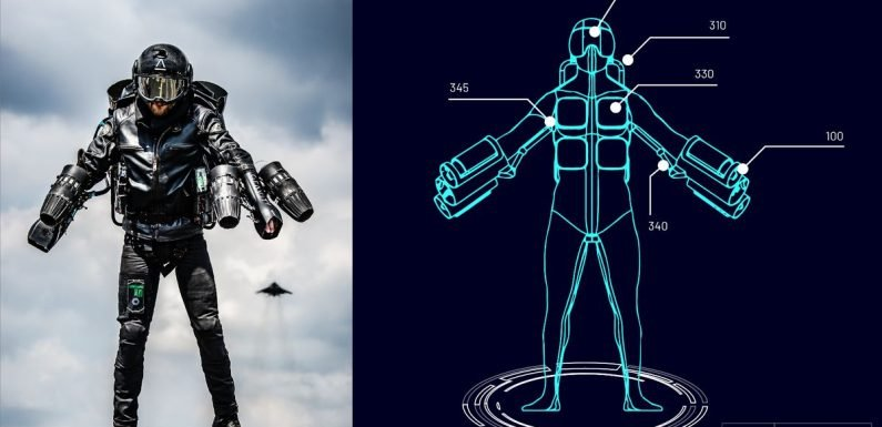 Real-life Iron Man patents Jet Suit that propels wearer through the air at 55mph