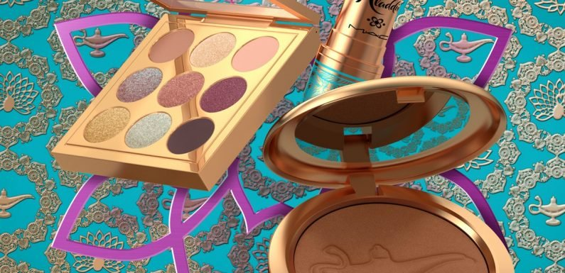 MAC's Disney 'Aladdin' Collection Is All Three Of YOur Wishes Come True