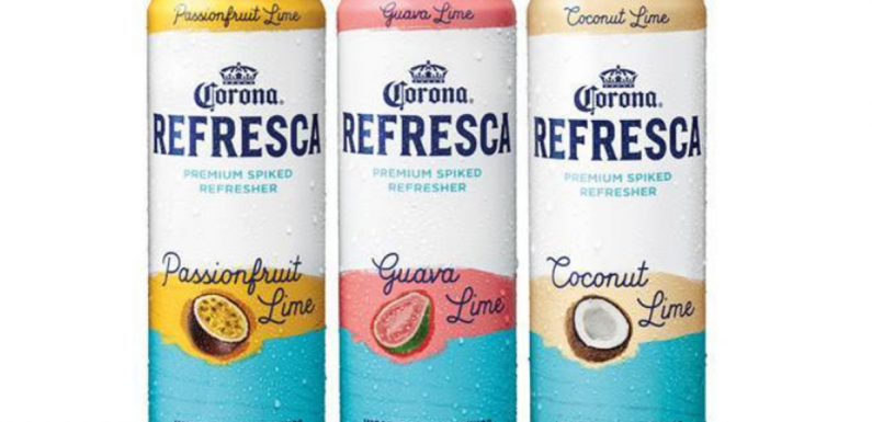 Corona's New Refrescas Line Includes Spiked Coconut Lime Refreshers For A Taste Of Summer