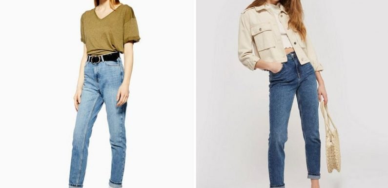 The £40 Topshop jeans that have fashion fans in a frenzy – with searches for them up 3,700 per cent