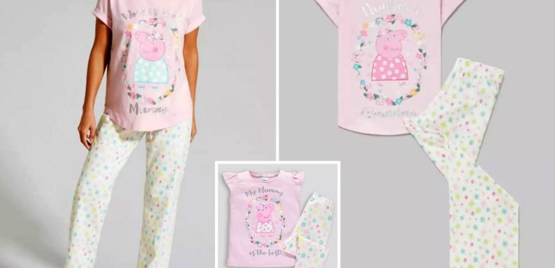 Matalan is selling matching daughter, mum and GRAN Peppa Pig pyjama sets for Mother's Day