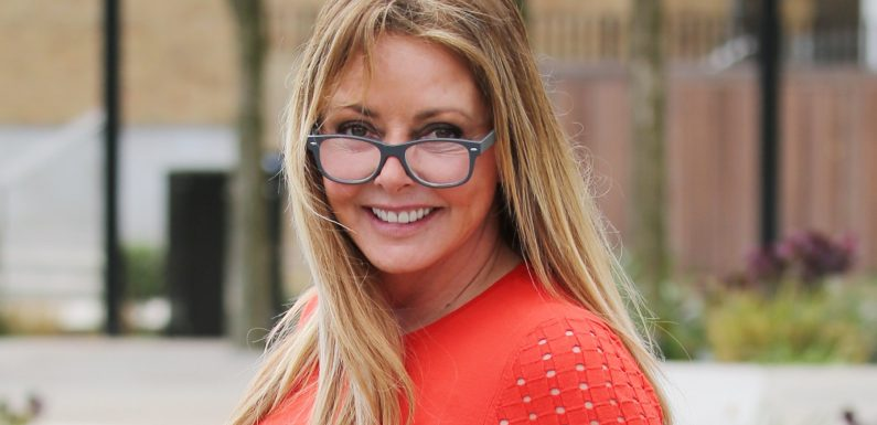 Carol Vorderman admits she goes commando, but insists she hasn't had bum implants and gets her 'huge a**e' from working out