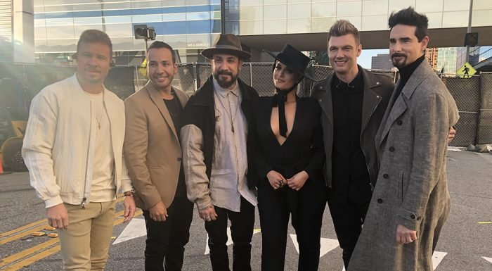 Backstage at the iHeartRadio Music Awards With Katy Perry, Bebe Rexha, 5SOS, More