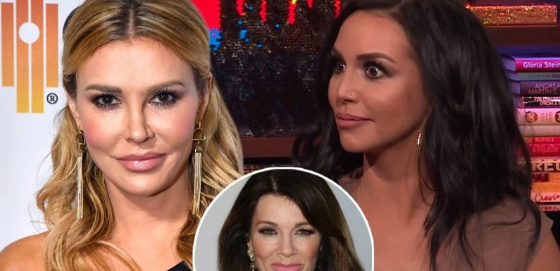 How Scheana Reacted After Brandi Glanville Called Her Out on 'WWHL'