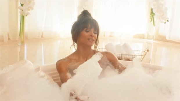 Ciara Twerks Naked In The Bathtub In Her Sexy 'Thinkin Bout You' Music Video – Watch