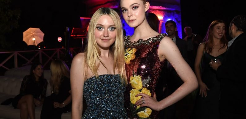 This Is The Hilarious Reason Why Elle Fanning Has Never Seen Sister Dakota On 'Friends'