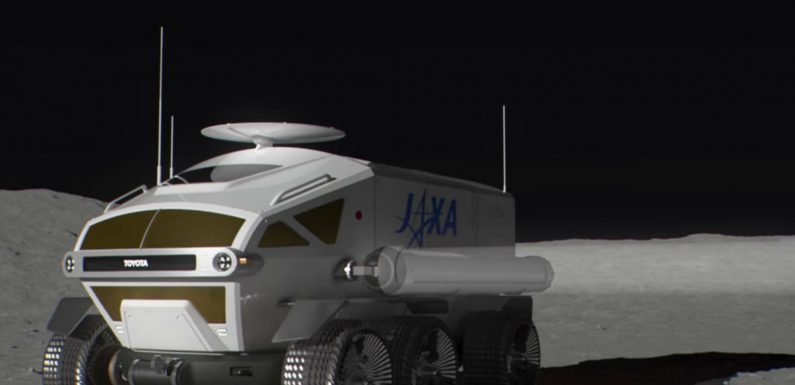 Toyota is creating a moon car for Japan's space agency