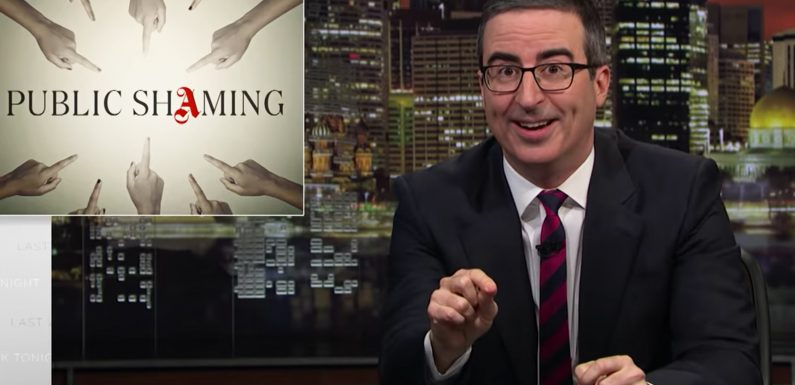 John Oliver: Olivia Jade Jokes Are Fair Game After 'Weird' College Admissions Scandal