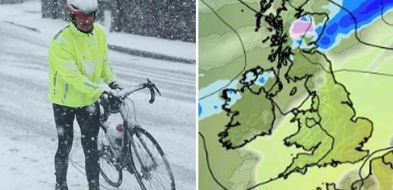 UK weather: Brits brace for icy freeze with temperatures set to PLUNGE this weekend
