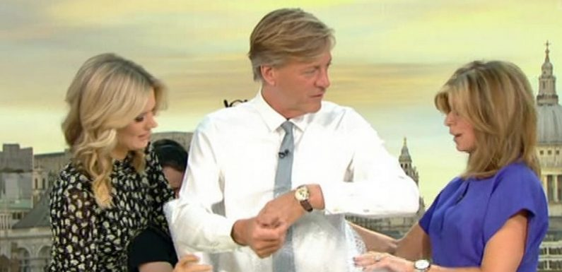 Richard Madeley feels uncomfortable as GMB co-hosts put him in 'pervy' outfit