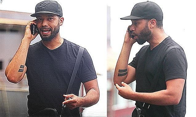 Jussie Smollett heard on a tense call saying 'you have to believe me'