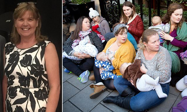 NCT president QUITS in breastfeeding row