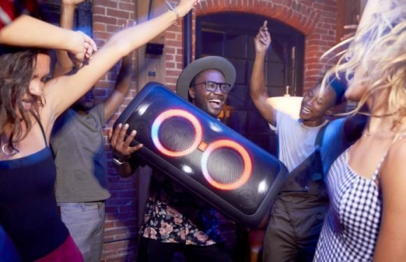 JBL's 16kg party speaker looks louder than it is