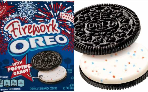 Fireworks Oreos That Legit Pop In Your Mouth Are Available At Walmart