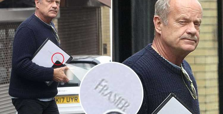 Kelsey Grammer hints Frasier reboot is finally happening as he's spotted with the script in London